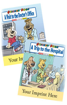 Our Products - Custom Promotional Coloring Books